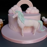 Unicorns Unicorn Cake and Cupcakes