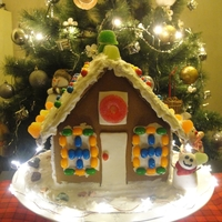 My Ginger Bread House Cake With Led