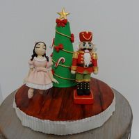Nutcracker Cake Topper I made this nutcracker ballet topper to go on a Christmas cake. This was inspired by the nutcracker ballet. The nutcracker and Clara are...