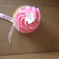 Baby Shower Cupcakes Cupcakes were made for a baby girl shower. Vanilla bean cake w/ Vanilla buttercream icing.