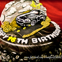 Dodge Charger Birthday Cake
