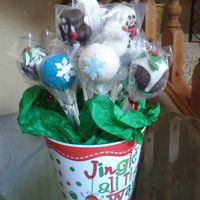 Fun Holiday Cake Pop Gift Fun Holiday cake pop gift