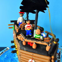 Pirate Themed Cake Pirate themed cake