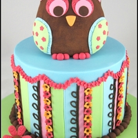 Colourful Owl Welcome Cake I made this cake to welcome my parents when they came to visit us from South Africa. The design is from Its-a-piece-of-cake.