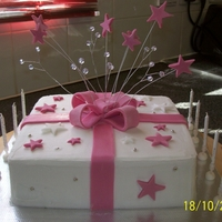 Lady's 80Th Birtrhday Cake