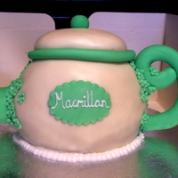 Teapot Cake To be raffled off to raise money from Macmillan!