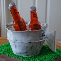 Bud Light Football Game Cake