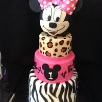 1St Birthday Birthday cake for a little princess!!!