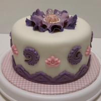 The Simple Purple Cake This cake was made to cheer up a very good friend who has been through a lot lately. Putting a smile on her face was priceless ;) her...