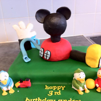 Mickey Mouse Clubhouse bit of a weird one the child wanted the clubhouse and huey dewey and louiethis was my first attempt at using RKT as well