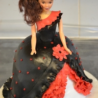 Flamenco Barbie flamenco barbie
