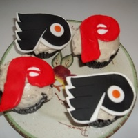 Happy Birthday John  I made these for my hubby's birthday last night he is a big sports fav and the Phillies and the Flyers are his favs. of course lol,...