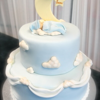 Moon And Cloud Cake