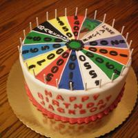 Wheel Of Fortune Birthday Cake This was for a one year old who LOVES Wheel of Fortune!