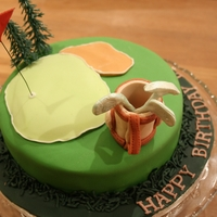 Golf Cake For an enthusiast