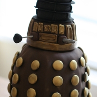 Dalek Cake Inspired by Dr. Who