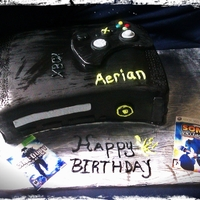 Xbox Cake xbox cake with controller with edible images