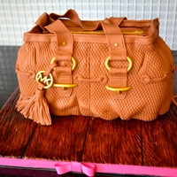 This Is The Michael Kors Hand Bag Cake I Made Today For A Surprise 40Th Birthday Celebration Thanks To All The Cake Central Members For Th... This is the Michael Kors hand bag cake I made today for a surprise 40th birthday celebration. Thanks to all the cake central members for...