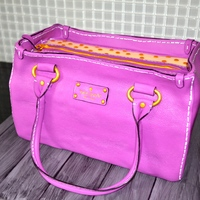 Kate Spade Purse Cake Made For A Lady Who Has A Collection Of These Purses Kate Spade purse cake made for a lady who has a collection of these purses.