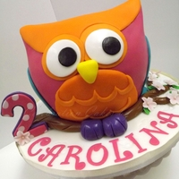 It's Another Owl Cake!