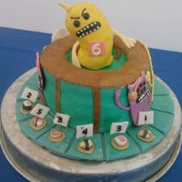 Sushi Monster   A math game app for iPod and iPad was my son's choice for his 6th birthday cake.