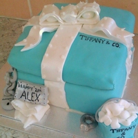 Tiffany & Co Cake