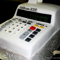 Calculator Cake! Not to be used to calculate calories!