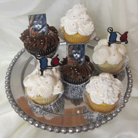 Le Miserables Production After Performance Treats  Mandarin orange cupcake filled with creamsicle custard and iced with pineapple-vanilla Swiss buttercream. Sour cream vanilla cupcake filled...