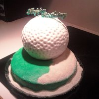 Golf Cake For my Daddy's 78th birthday.