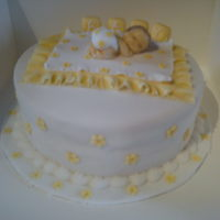 Baby Shower  Made this cake for a baby shower. The mum to be did not know what she was having. She loved the cake. This was my first baby cake. I'm...