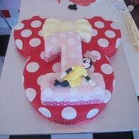 Millies 1St Birthday Cake