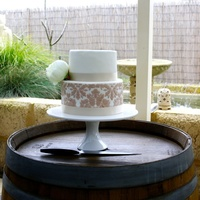 Sisters Engagement Cake