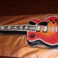 Guitars Grooms Cake Guitars groom's cake