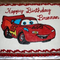 Cars Buttercream Transfer CARS buttercream transfer