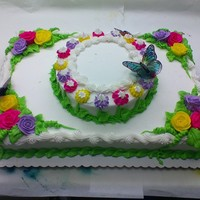 Fairy Ring This is a cake from the Bakery that someone had ordered.
