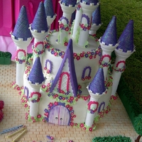 Charmschool Barbie Castle Cake