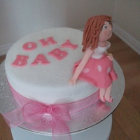 Pregnant Mummy I made this for my niece who is 6 months pregnant with a little girl, it was more as a thank you than a shower cake,.