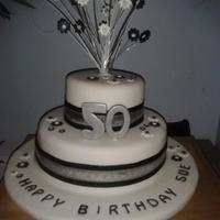 My Second Attempt At A Two Tier Cake And I Was Really Pleased With It And So Was My Sister In Law *My second attempt at a two tier cake and I was really pleased with it and so was my sister in law