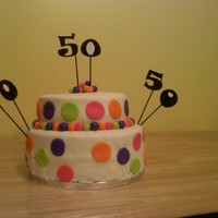 Aunt Willie's 50Th Birthday Cake