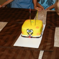 Spongebob Small personal sized cake