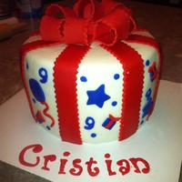 Present Cake   Cristian's 9th Birthday