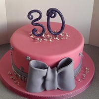 Blingy 30Th Birthday Cake!