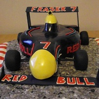 Formula 1 Car For 7Th Birthday