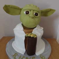 Yoda!   Just the supports in the ears are not edible!