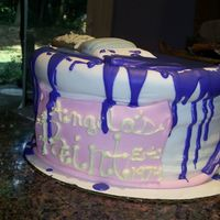 Paint Can Birthday Cake