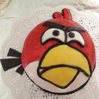 Cole's Angry Bird Cake My 30 months old son was invited to a birthday party. Beside the packed gifts, I prepared this cake for the birthday boy who was turning 2...