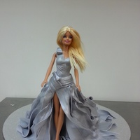 My First Runway Barbie Cake.