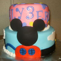 Micky Mouse Clubhouse Themed Cake Micky Mouse clubhouse themed cake