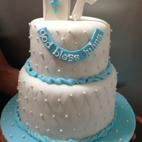 Baptism Cake For Baby Boy Julius Baptism Cake for Baby Boy Julius