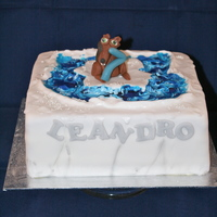Ice Age Birthday Cake   ice age birthday cake
